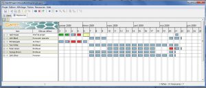 gantt chart template word ganttproject resources
