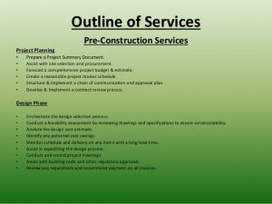 general contractor contract cjm construction consulting powerpoint presentation