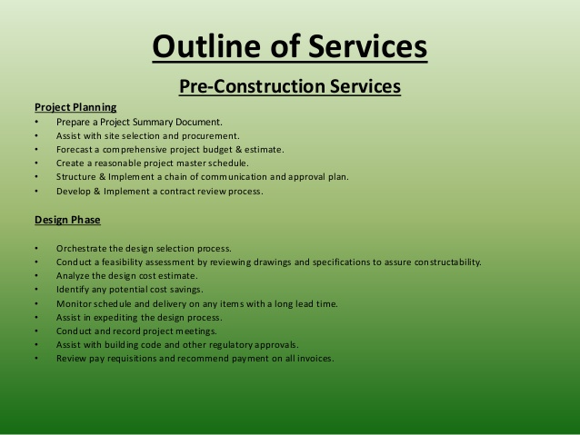 general contractor contract