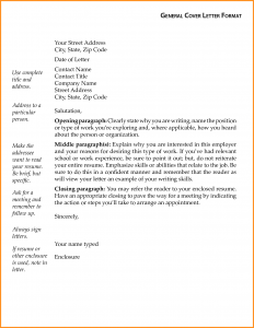general cover letter template general letter format sample resume cover letter general general cover letter