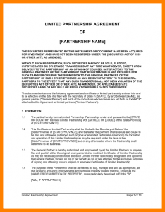 general partnership agreement general partnership agreement template