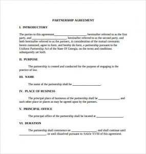 general partnership agreement sample pdf general partnership agreement