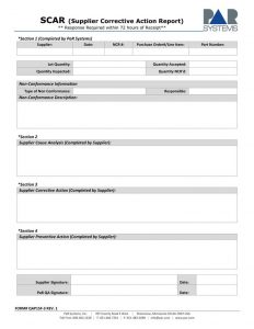 general power of attorney sample supplier corrective action report template