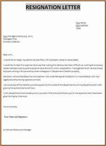 generic application form great resignation letter resignation letter template