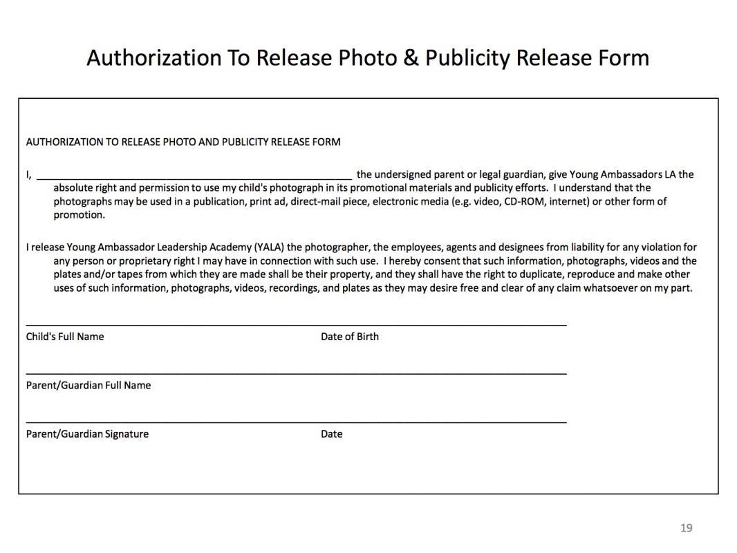 generic job application form