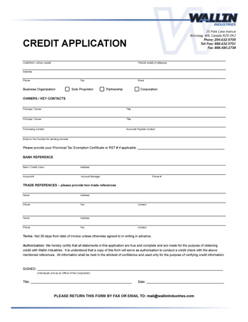 generic job application pdf