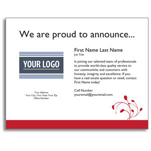 gift card envelope template announcementcard