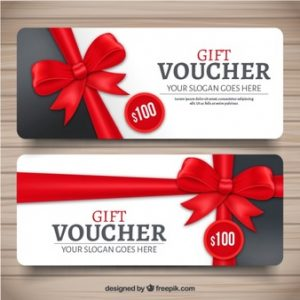 gift card envelope template realistic gift voucher with red decorative bow