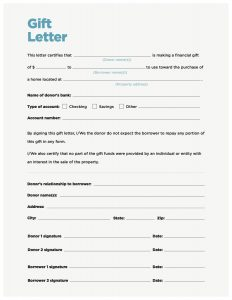 gift letter for mortgage cd gift letter blue v
