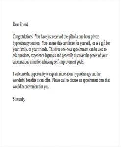 gift letter template gift voucher letter template
