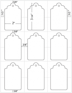 gift tag template word t ita diagram