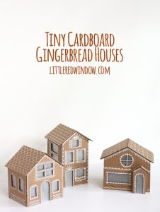 gingerbread house templates cardboard gingerbread houses littleredwindow