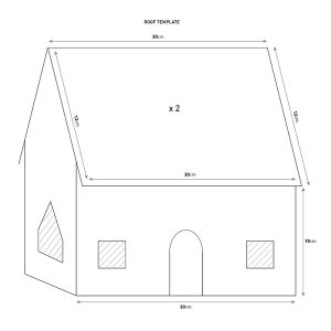 gingerbread house templates gingerbread house