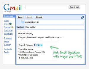 gmail signature template free email signature template