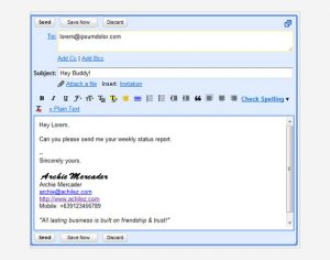 gmail signature template html gmail signature template