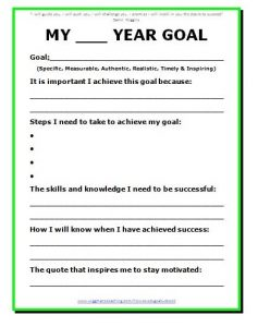 goal setting template effective goal setting templates for you stunning motivation
