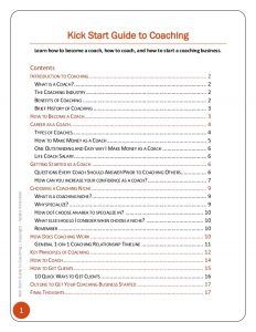 goal setting worksheet pdf how to become a life coach kick start guide to coaching
