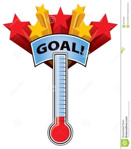 goal thermometer template fundraising goal thermometer clip art free