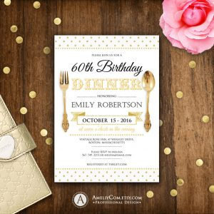 golden birthday invitations il fullxfull dg