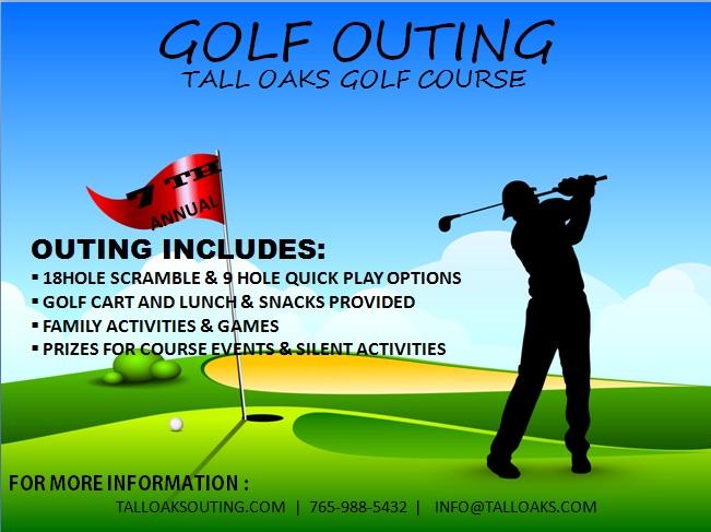 Golf Tournament Flyer Template | Template Business