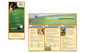 golf tournament flyer template sfd s