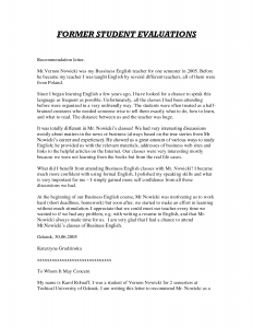 Graduate School Recommendation Letter Sample Letter Of Recommendation For  Teacher Tfxkre