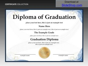 graduation certificate templates certificate and diploma templates