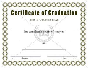 graduation certificate templates graduation certificates templates thumb