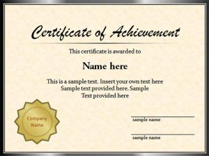 graduation certificate templates sample graduation certificate template powerpoint