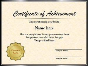 graduation certificate templates sample graduation certificate template powerpoint