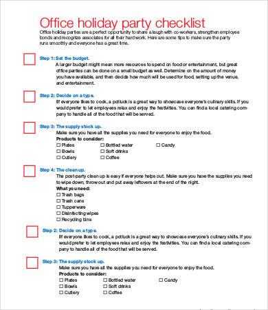graduation party checklist