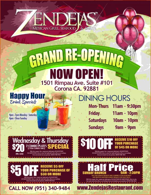 Grand Opening Flyer  Template Business