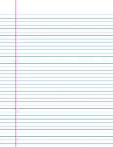 graph paper template pdf large lined paper template