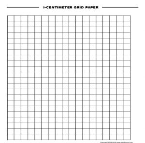 graph paper template word centimeter grid paper
