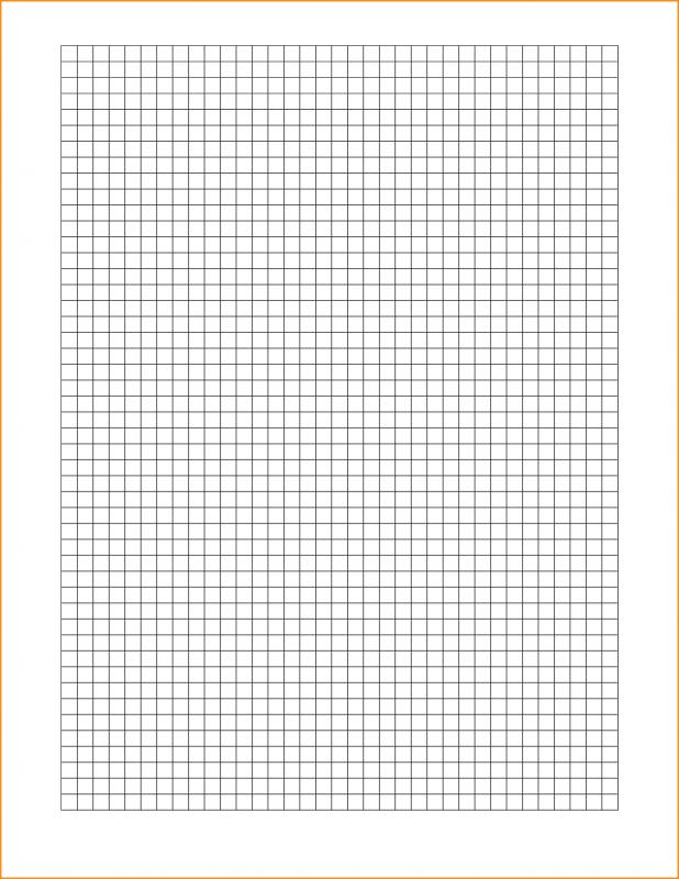 Graph Paper Template Word  Template Business