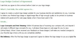 graphic design contracts
