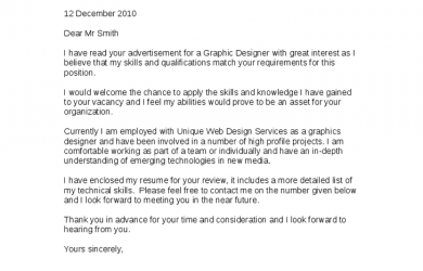 graphic design cover letter graphic designer cover letter 1