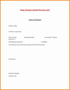 graphic design cover letter sample salary certificate doc