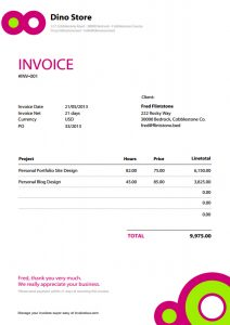 graphic design invoice free invoice template pdf