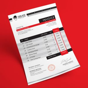 graphic design invoice template free professional business invoice design template in ai eps