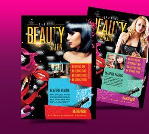 hair salon flyers beauty salon business flyer by satgur dtrp