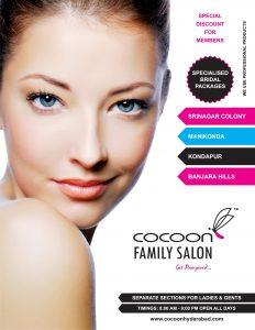 hair salon flyers cocoon family salon beauty