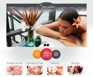 hair salon websites spa salon