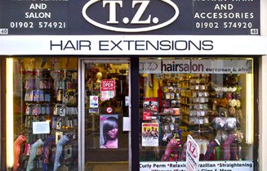 hair salon websites tz retail store