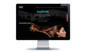 hair salon websites website design bournemouth levelhair x