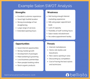 hair saloon business plan salon swot analysis example