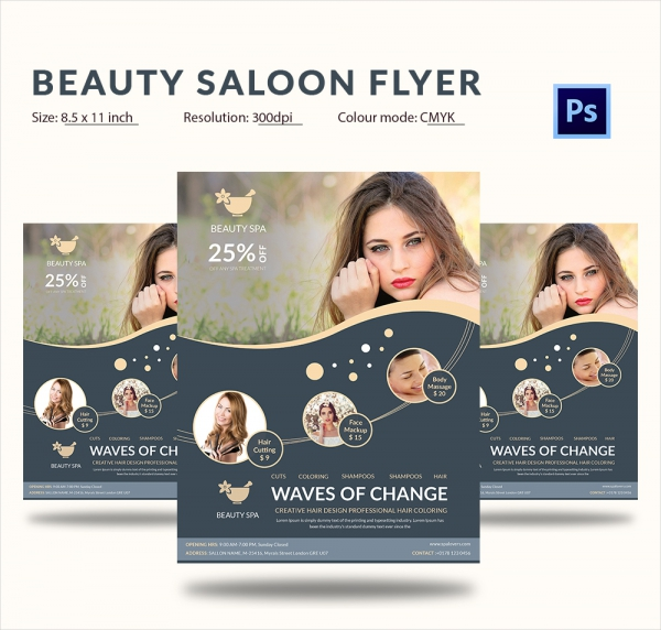 hair saloon websites