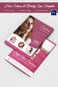hair saloon websites hair salon fashion style services wide flyer
