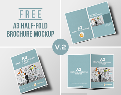 Half Fold Brochure Template Template Business - Single fold brochure template
