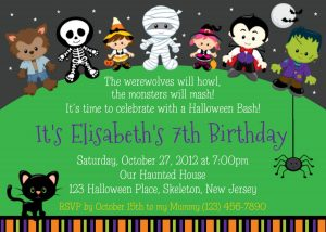 halloween party invites templates childrens halloween party invitation ideas